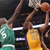 Duygusal gecede Lakers kazandı