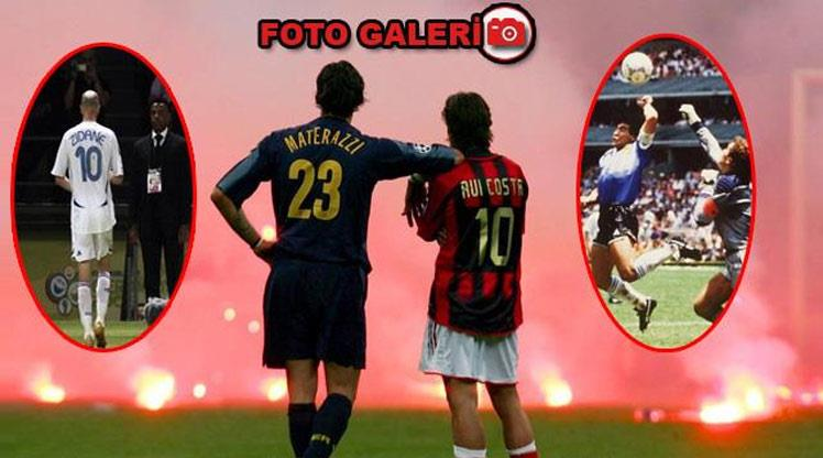 Futbol dünyasının unutulmaz anları